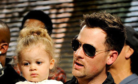 Joel Madden and Harlow