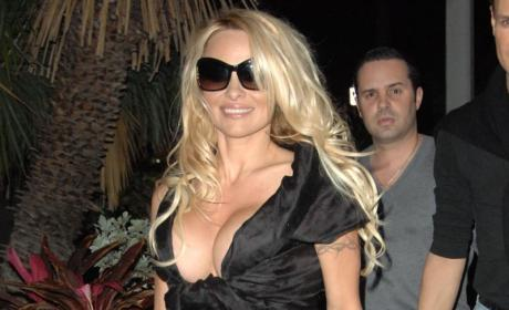 Pamela Anderson: Possibly Wrecked By a Train
