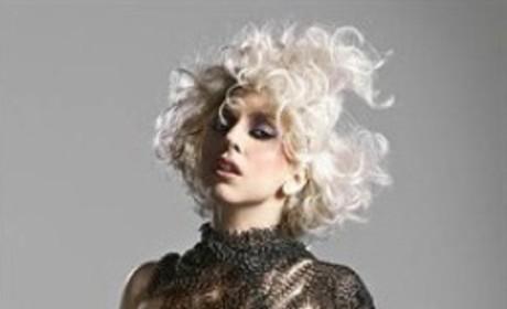 Lady Gaga: Topless, Bulging in Q Magazine