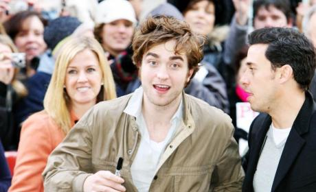 Robert Pattinson Takes Over NYC