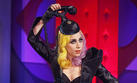Lady Gaga Fashion Watch: Hair Phone Reloaded!