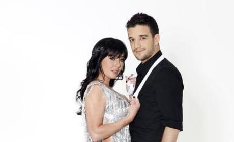 Shannen Doherty and Mark Ballas