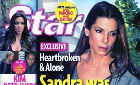 Sandra Bullock: Married to a Cheating Monster!
