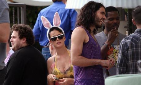 Resurrection Rocks: Celebrities Celebrate Easter with Families, Fiances