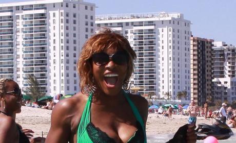 Serena in a Bikini