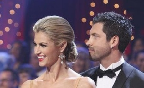 Erin Andrews Gushes About Maksim Chmerkovskiy, Vaguely Denies Any Penetrating