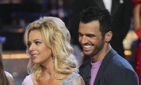 Kate Gosselin and Tony Dovolani Photo