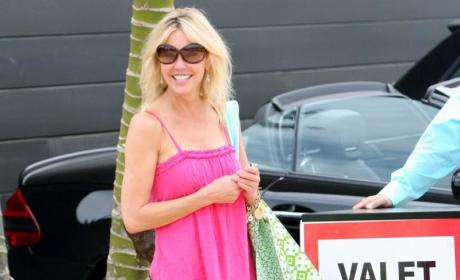 Heather Locklear Arrested in Hit-and-Run Incident