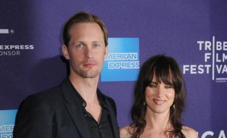 Juliette Lewis and Alexander Skarsgard