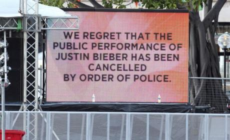 Crazed Justin Bieber Fans Cause Riot, Concert Cancellation, Must Chill the Eff Out