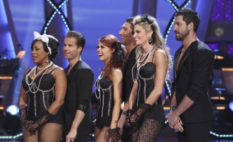 Dancing with the Stars Recap: Perfection For Evan Lysacek, No Pants For Erin Andrews