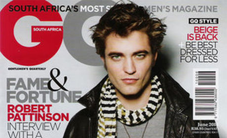 Robert Pattinson: A South Africa GQ-tie