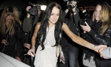 Lindsay Lohan Points Fingers, Denies Responsibility