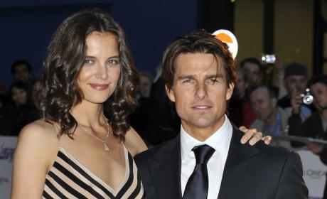 "Report: Tom Cruise Made Katie Holmes Study Scientology on ""Slave Labor Church Bus"""