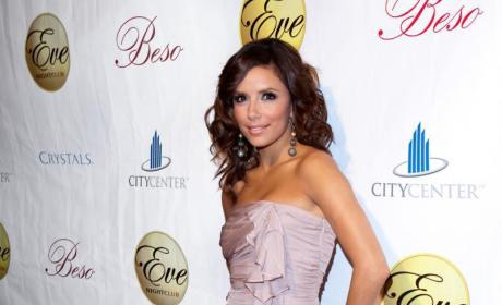 Eva Longoria, Tony Parker Make it Official... Twice!