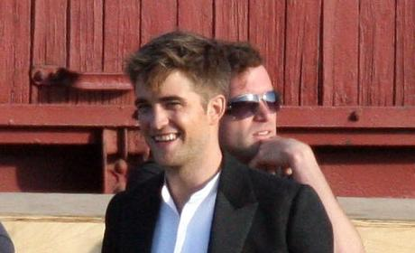 Robert Pattinson: On Location, Minus Long Hair