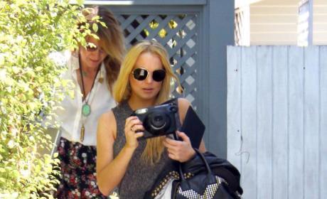 Lindsay Lohan: 2-For-2 on Drug Tests!