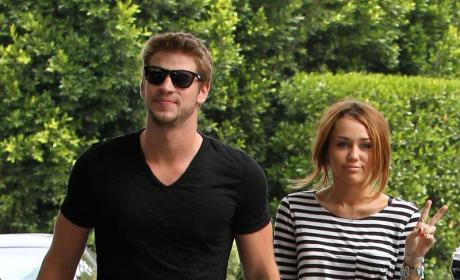 Justin Gaston and Miley Cyrus Make for Soup Fodder