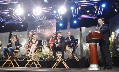 Eclipse Cast Talks Werewolf Genitalia, Looks Attractive, Premieres Clip on Jimmy Kimmel Special