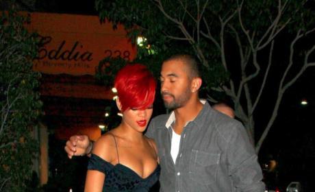 Matt Kemp, Rihanna Photo