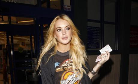 Lindsay Lohan Loves Pole Dancing, Samantha Ronson