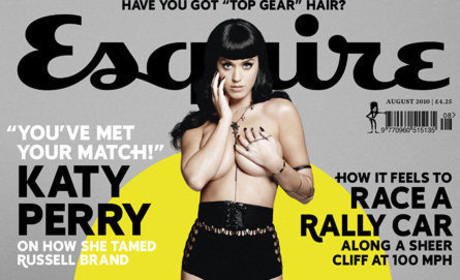 "Katy Perry Rates Self ""10 Out of 10"" in Bed"