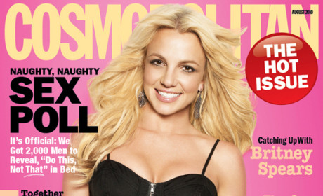 Britney Spears Covers Cosmopolitan, Forbids Kids From Entertainment Careers