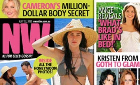 Megan Fox Really is the Next Angelina Jolie