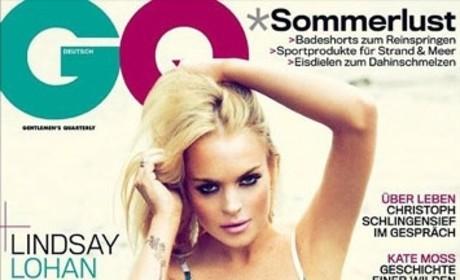 Lohan: German GQ Cover