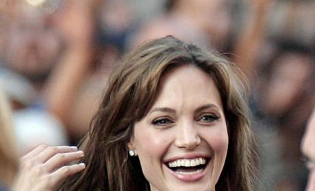 Angelina Jolie Topless Photo: For Sale! Old School!