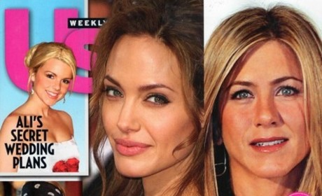 Breaking News: Angelina Jolie Steals Brad Pitt From Jennifer Aniston!
