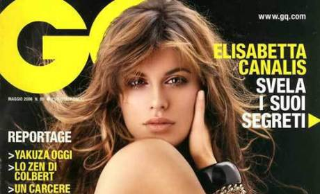 Elisabetta Canalis on GQ