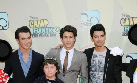 Four Jonas Brothers