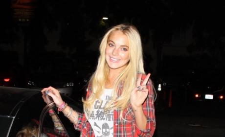 Lindsay Lohan: Pumped Up For Freedom!