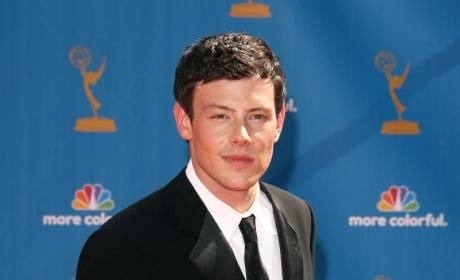 Which Glee star looked cuter at the Emmys?
