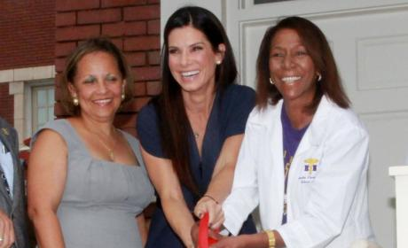 Sandra Bullock Gushes Over Baby Louis