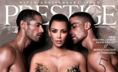 Kim Kardashian on Prestige: One Of Her Most Risque Covers Yet!