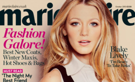 Blake Lively Marie Claire UK Cover