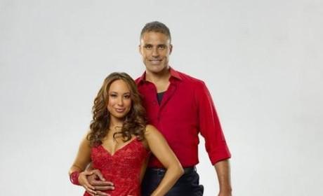 Cheryl Burke and Rick Fox