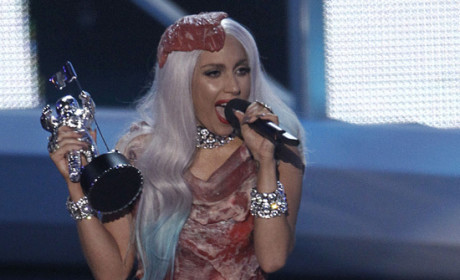 Lady Gaga Meat Dress: Tasty or Tasteless?
