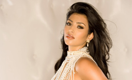 Kim Kardashian Playboy Photograph