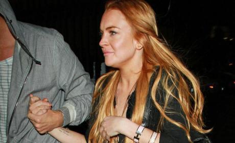 Lindsay Lohan May Be Locked Up Friday