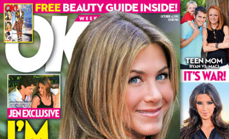 Jennifer Aniston: I'm Back With John Mayer (According to Made-Up Tabloid Quote)!