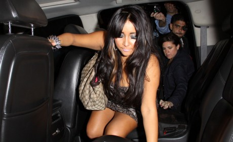 Report: Snooki Hospitalized For Alcohol Poisoning