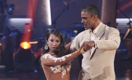 Rick Fox Eliminated on Dancing With the Stars