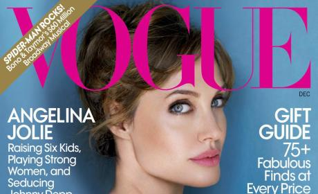 Angelina Jolie Covers Vogue, Gushes About Brad Pitt