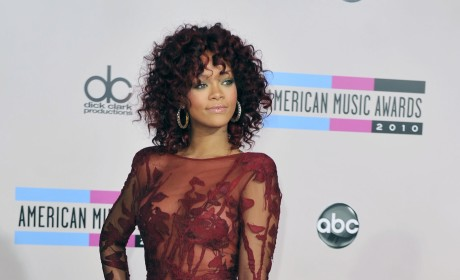 Red, Curly Rihanna