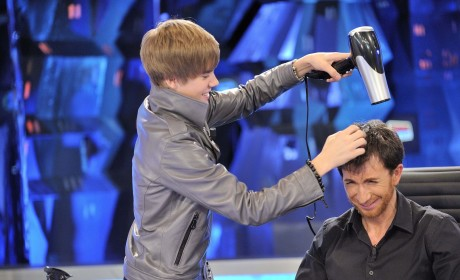 THG Caption Contest: The Bieb and the Blow Dryer
