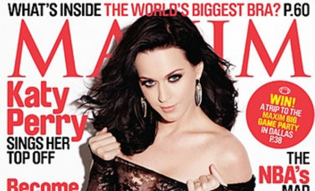 Katy Perry in Maxim: Relatively Tame