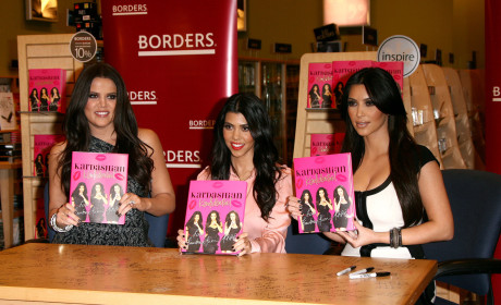 Kardashian Konfidential Sits on NY Times Best Sellers List, Apocalypse Approaches
